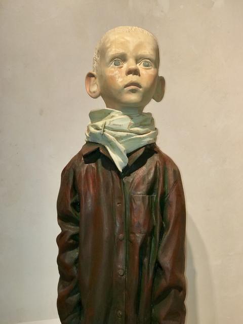 Igor Melnikov, 'Dreamer', 2017, Sculpture, Wood and paint, Turner Carroll Gallery