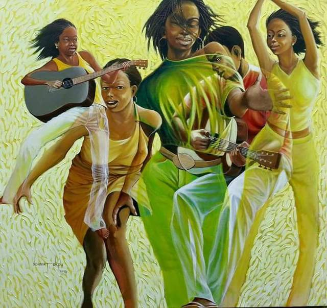 , 'Rhythm on String,' , Art Village Gallery