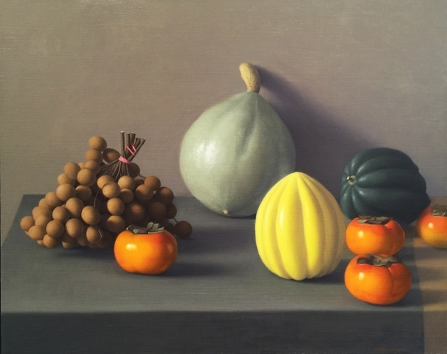 , 'Still Life with Logan Berry and Persimmons,' 2011, Clark Gallery