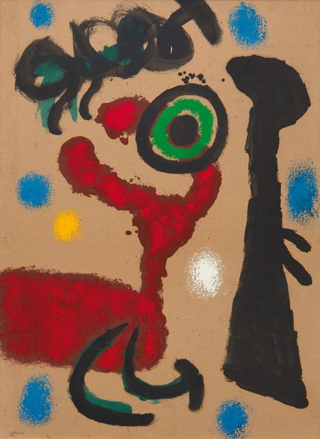 Joan Miró, 'Femme et oiseau', 1963, W&K - Wienerroither & Kohlbacher