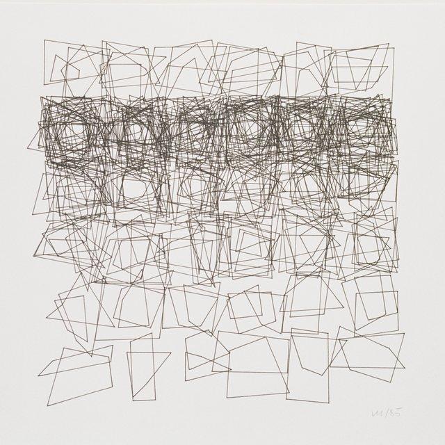 , 'Structures de quadrilateres,' 1985, DAM Gallery