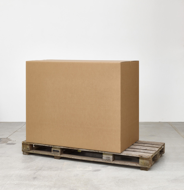 , 'Cardboard Box I,' 2015, Galleri Nicolai Wallner