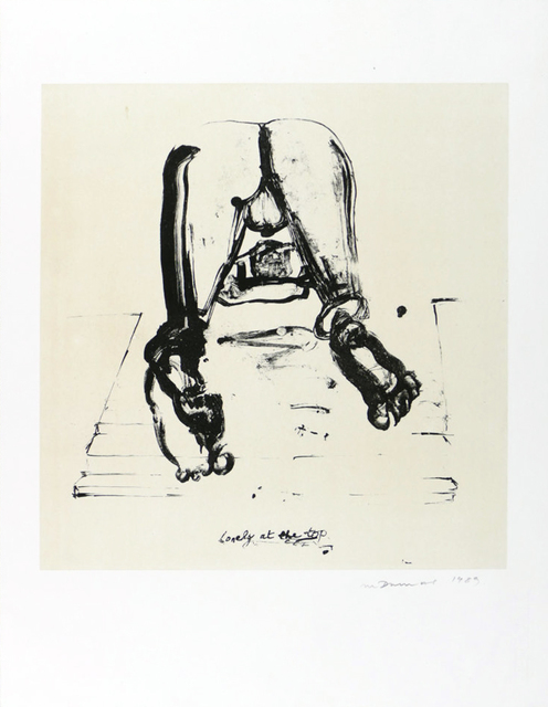 Marlene Dumas, 'Lonely at the Top', 1989, MLTPL