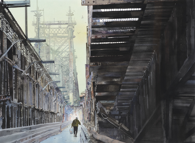 , 'Queensboro Bridge,' , Stremmel Gallery