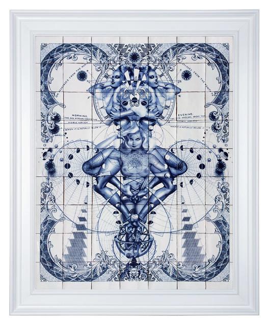 , 'Pentade Delfts Blue,' 2015, Hashimoto Contemporary