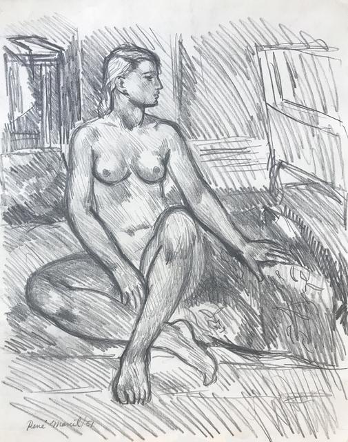 , 'Nude,' 1951, Nikola Rukaj Gallery