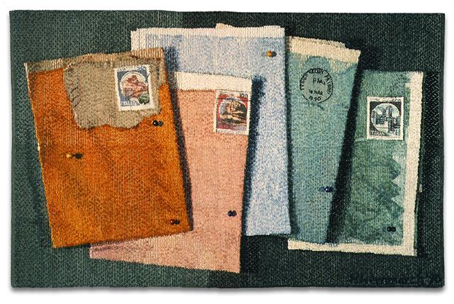 , 'Italian Postage,' 1990, The Aldrich Contemporary Art Museum