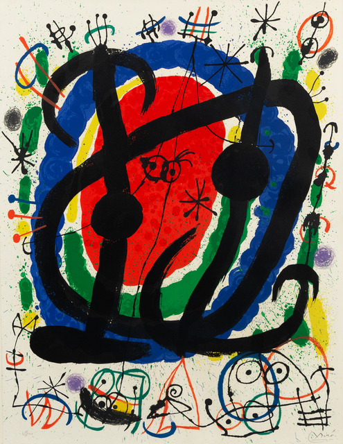 Joan Miró, 'Abstract Composition 1', 1961, Hindman
