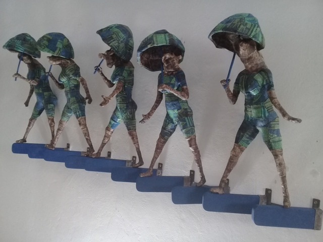 Mamady Seydi, 'Umbrellas', 2019, Galerie Galea
