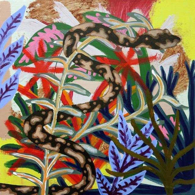 , 'blind cow serpent,' 2016, Projet Pangée