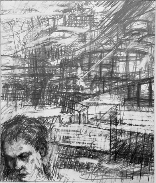 William Boyd Woods, 'Portrait of My Nephew (Tranquility)', 2018, Robert Kananaj Gallery