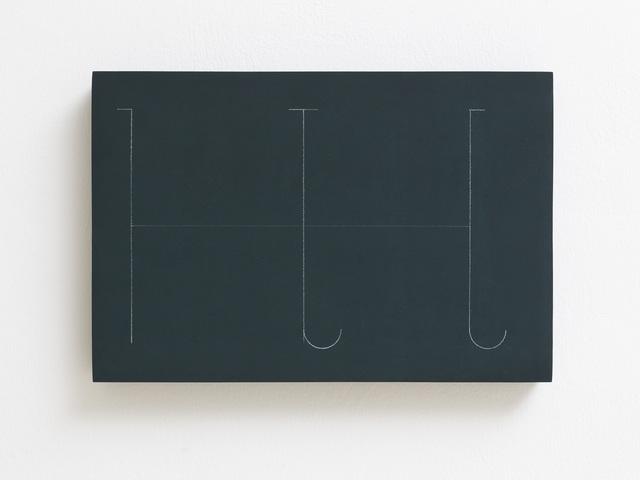 , 'fidäl study,' 2016, Dvir Gallery