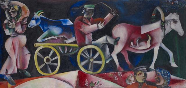 , 'Le marchand de bestiaux,' 1912, Kunstmuseum Basel
