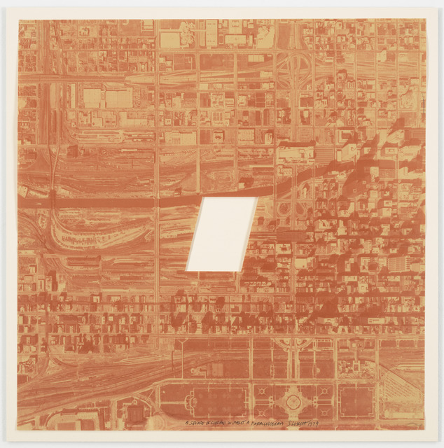, 'A Square of Chicago without a Parallelogram,' 1979, James Cohan