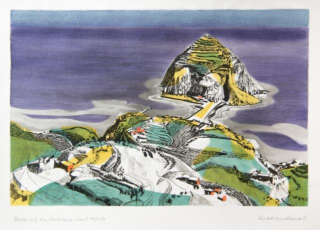, 'Blick auf die Halbinsel Sant Angelo,' Late 1950's, GALLERY 1/1
