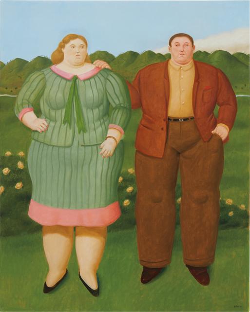 Fernando Botero, 'La Pareja', 2013, Phillips