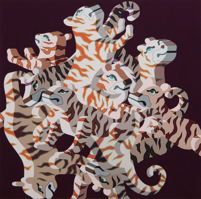, 'The pattern (tiger),' 2016, Sezon Art Gallery