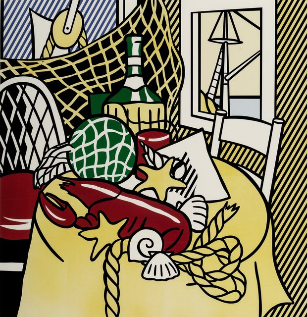 Roy Lichtenstein, 'Still Life with Lobster', 1974, Print, Lithograph and screenprint in colors on Rives BFK paper, Heritage Auctions