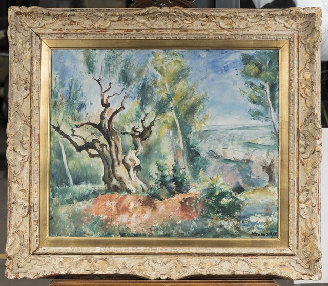 Roman Kramsztyk, 'Paysage provençal', executed circa 1930, Leclere