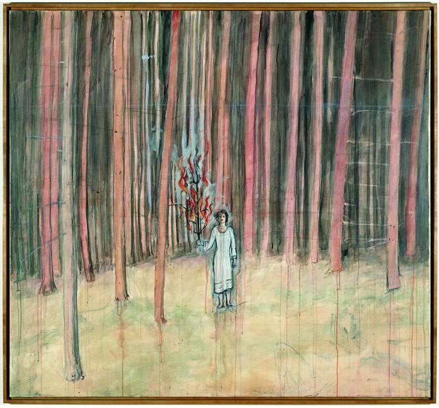 , 'Mann im Wald,' 1971, Centre Pompidou