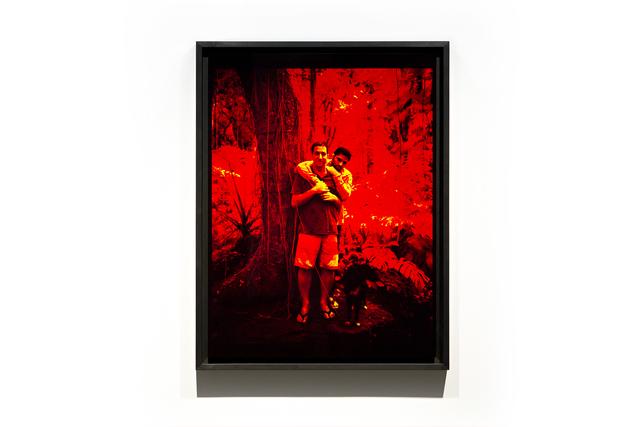 , 'Glenn Greenwald & David Miranda (São Paulo),' 2015, Nome