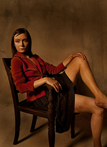 , 'Libby / After Therese (Balthus' Therese, 1938),' 2012, The Schoolhouse Gallery