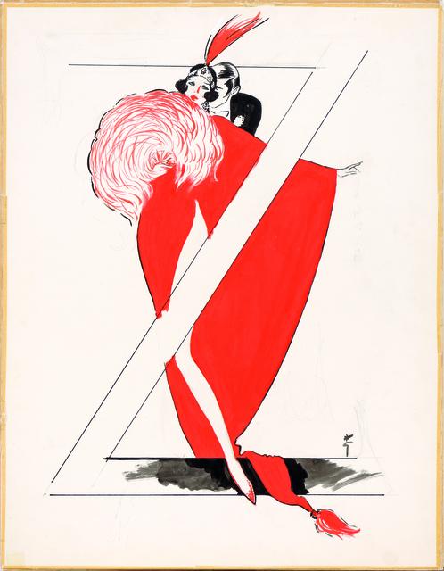 René Gruau, 'Ziegfield Follies', 1988, Alexis Pentcheff
