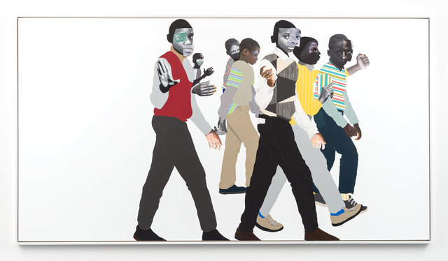Deborah Roberts, 'When you see me', 2019, Mixed Media, Mixed media and collage on canvas, Stephen Friedman Gallery