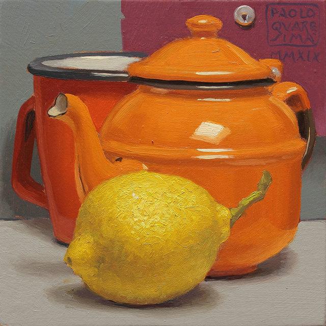 Paolo Quaresima, 'Orange Pekoe', 2019, Galleria Punto Sull'Arte