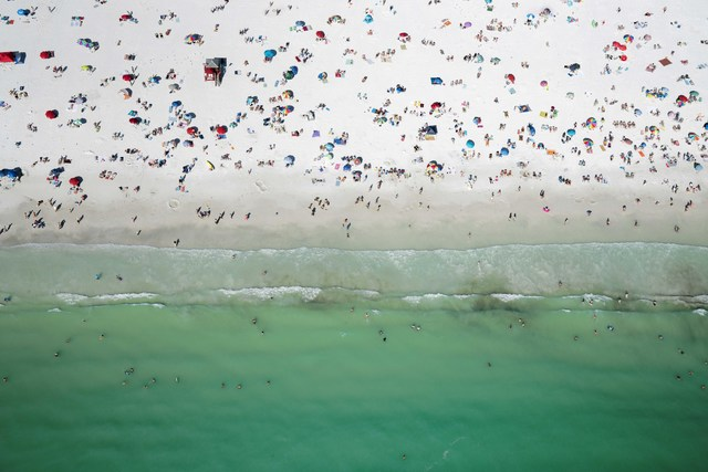 Dinesh Boaz, 'All the People (Siesta Key, Florida) ', N/A, THE WHITE ROOM GALLERY