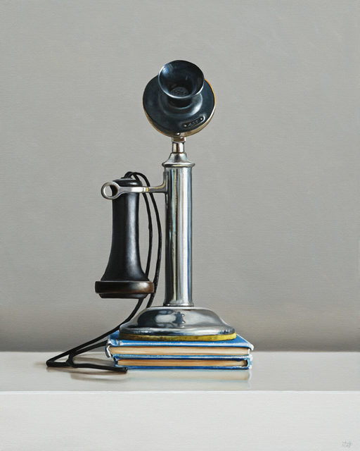 , 'Antique Candlestick Telephone,' 2019, George Billis Gallery