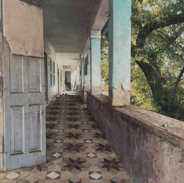 , 'Corridor,' 2015, Pontone Gallery
