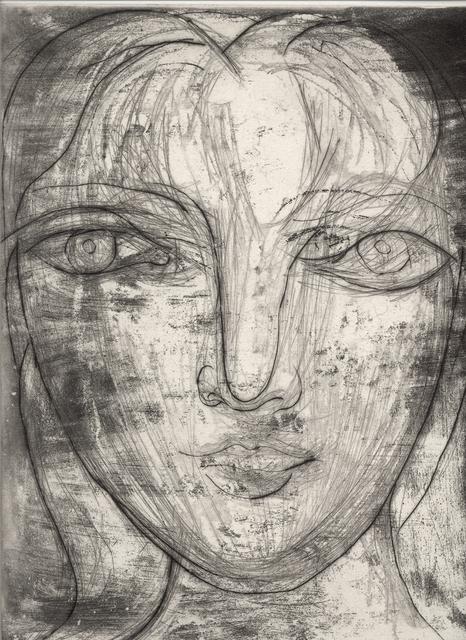 , 'Portrait de Marie-Thérèse de Face,' 1934, John Szoke