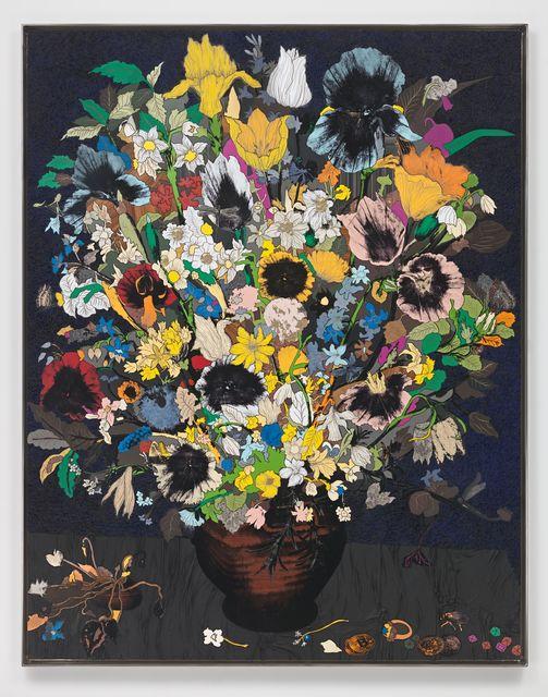 , 'Little Bouquet in a Clay Jar,' 2018, Hauser & Wirth