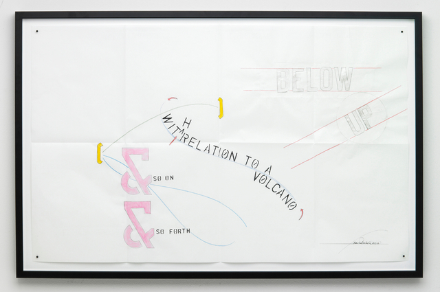 , 'Below Up - With Relation to a Volcano,' 2010, i8 Gallery