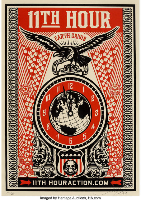 Shepard Fairey (OBEY), '11th Hour', 2007, Heritage Auctions