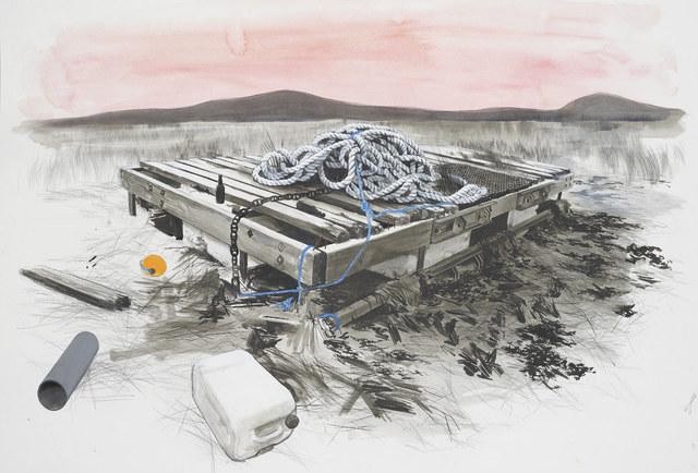 , 'Untitled (Raft),' 2015, GRIMM