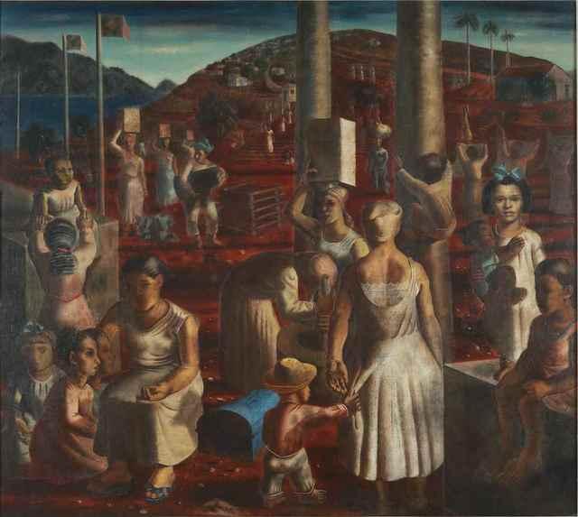 , 'Festa de São João,' 1936, MALBA