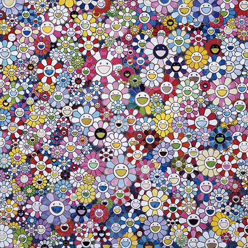 Takashi Murakami, ' Bouquet of Love', 2016, Dope! Gallery