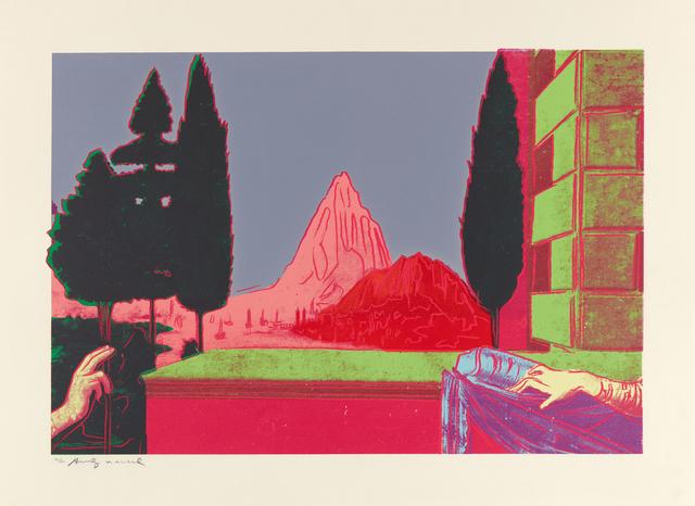 Andy Warhol, 'Details of Renaissance Painting (Leonardo da Vinci, 'The Annunciation', 1472)', 1984, Ludorff