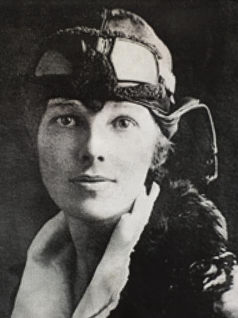 , 'Amelia Earhart Portrait,' 2013, V1 Gallery