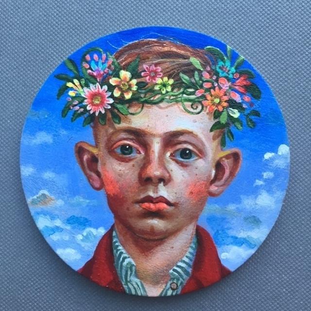 Timothy Cummings, 'Garland Crown 3', 2019, Nancy Hoffman Gallery