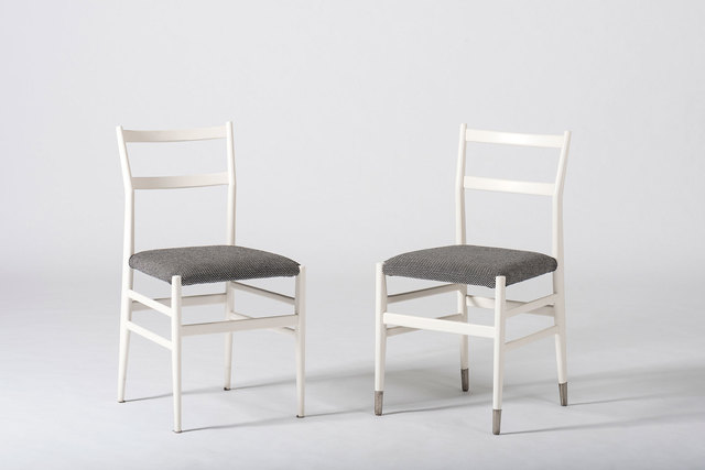 , 'Set of 10 dining chairs,' ca. 1954, Casati Gallery