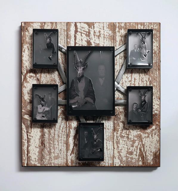 , 'The Hatchet Queen & Her Minions,' 2018, Joshua Tree Art Gallery