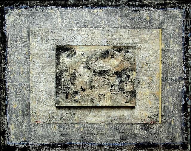 Nizar Sabour, 'THE SOUL OF MAALOULA ', 2015, Painting, MIXED MEDIA ON CANVAS, Mark Hachem Gallery