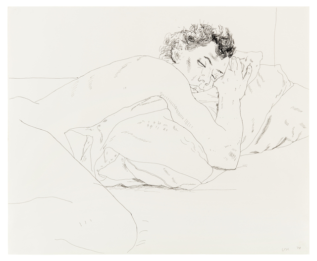 , 'Gregory Sleeping,' 1978, Paul Kasmin Gallery