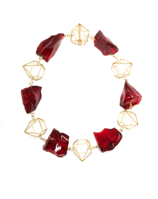 , 'Collier Rouge 2,' 2012, Ornamentum