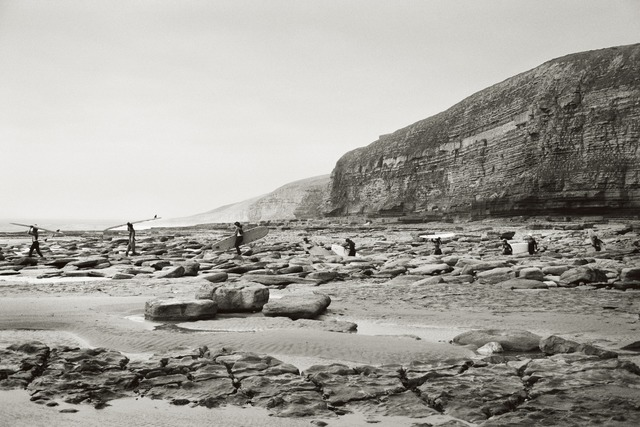 , 'Surfers at Southerndown, Wales, UK,' 2009, Staley-Wise Gallery