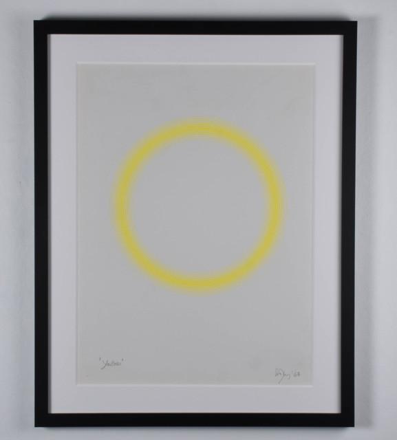 Peter Sedgley, 'Yellow', 1968, RCM Galerie