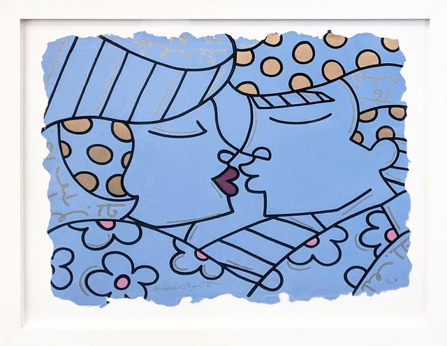 Romero Britto, 'YOU ARE SO WONDERFUL (BLUE)', 2001, Gallery Art